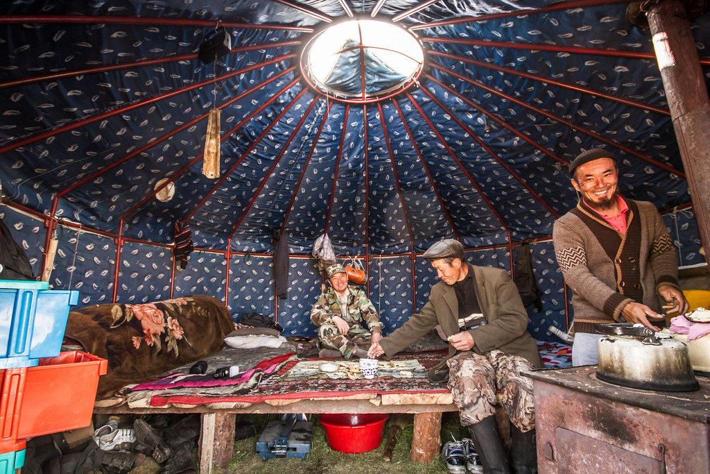 ... Inside a nomad tent | by Leica Hunting & Inside a nomad tent | Annually the nomads move from the loweu2026 | Flickr