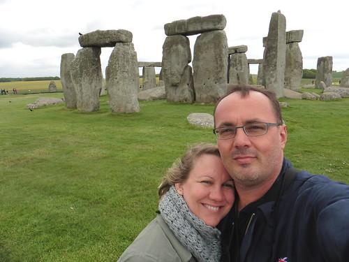 We visited Stonehenge on Salisbury Plain