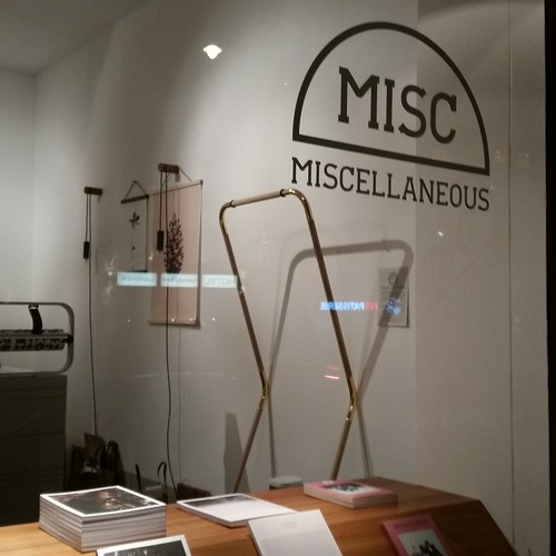 Wonderful displays and goodies at misc store amsterdam.