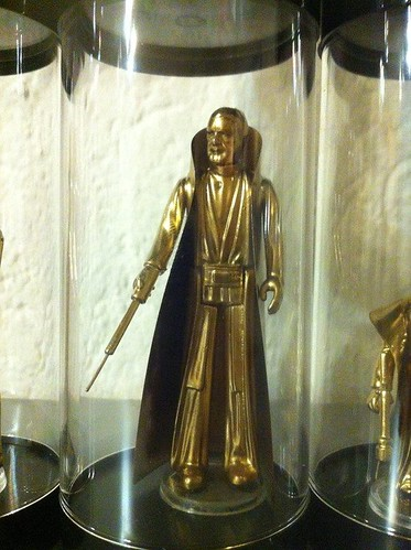 Vintage Star Wars Action Figures 24KT Gold Edition Ben Kenobi