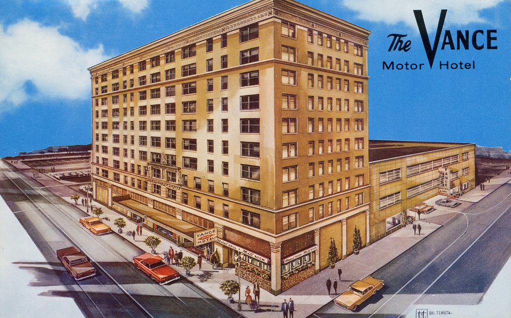 The Vance Motor Hotel - Seattle, Washington