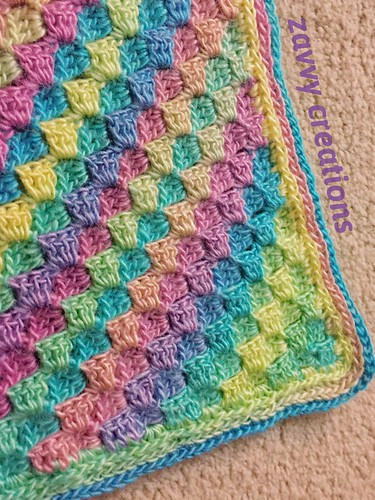 Jewel Toned Blanket Border