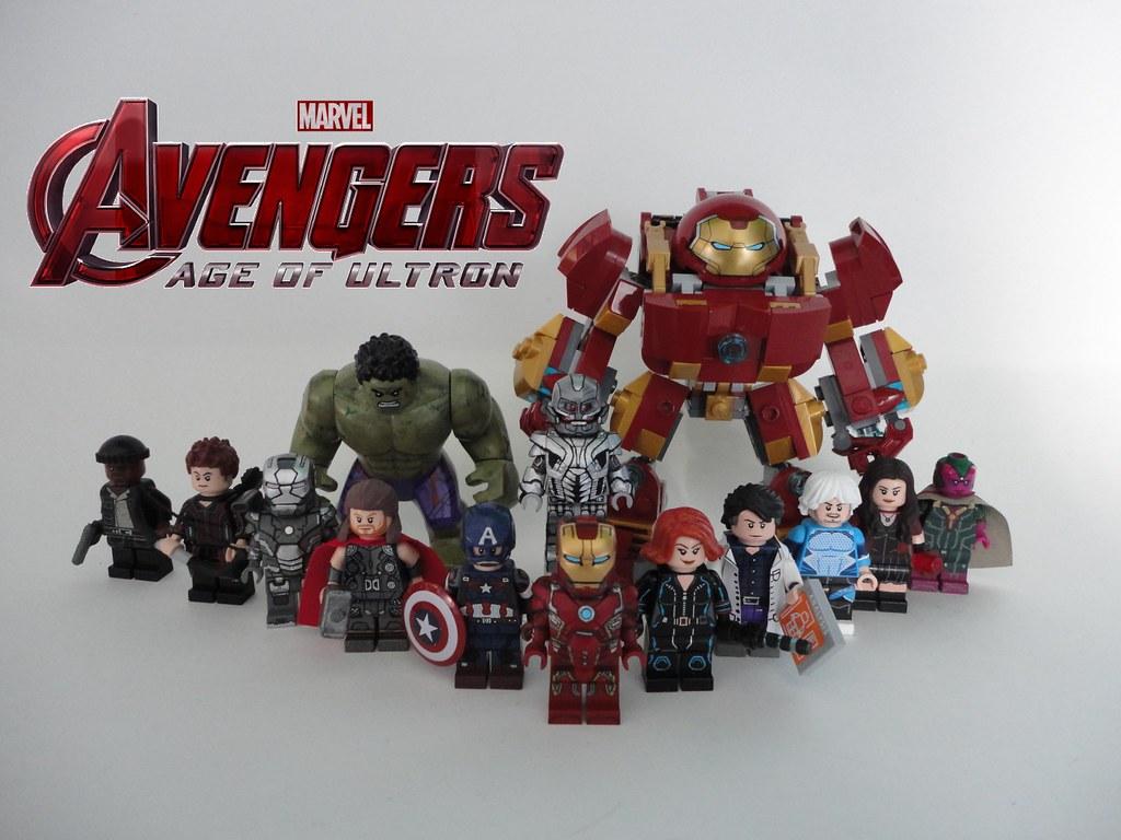 Lego Avengers Age Of Ultron Custom Minifigures First