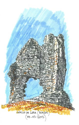 Lara de los Infantes (Burgos). Castillo