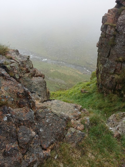 View down from Sharp Tor (Tavy Cleave)