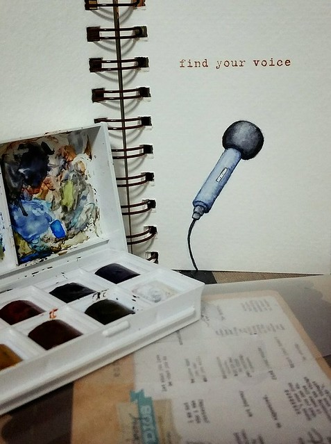 {Find your Voice} Watercolor