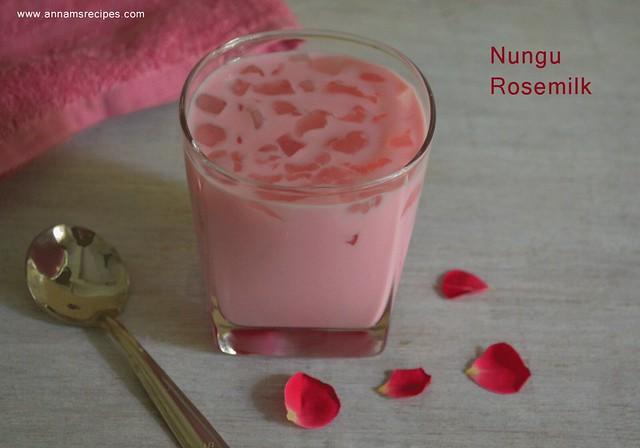 Nungu Rosemilk Recipe