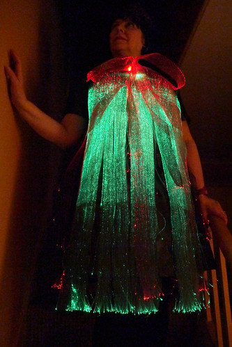 ThinkerBelle fibre optic EEG dress