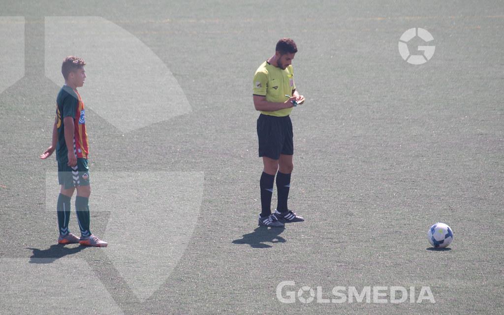 CF SAN PEDRO 2-3 CD CASTELLÓN B (04/09/2016), JORGE SASTRIQUES