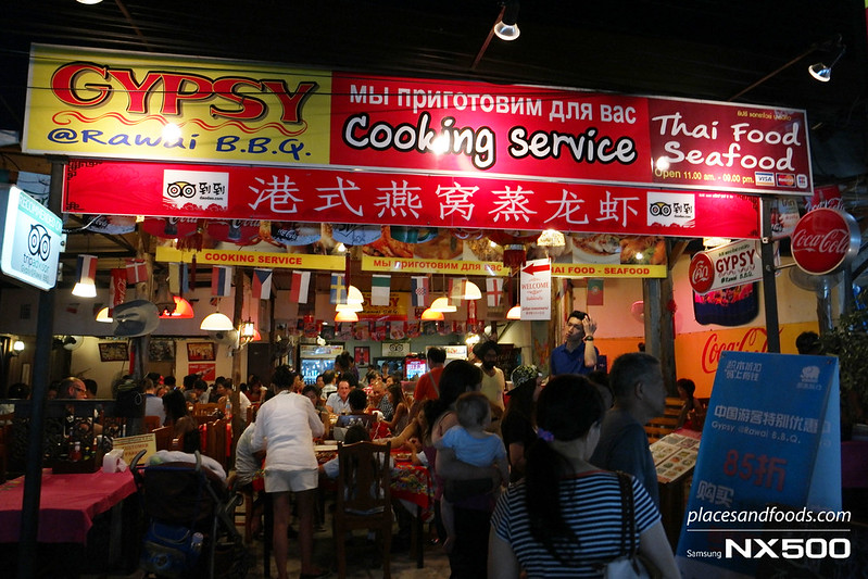 rawai fish market gypsy bbq