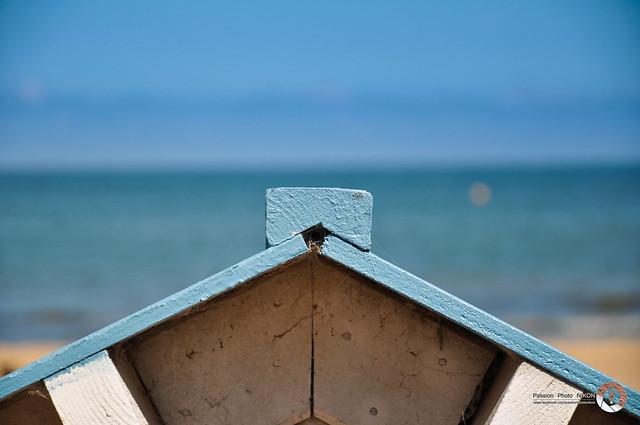Cabine de plage normandie flickr photo sharing - Cabine de plage exterieur ...