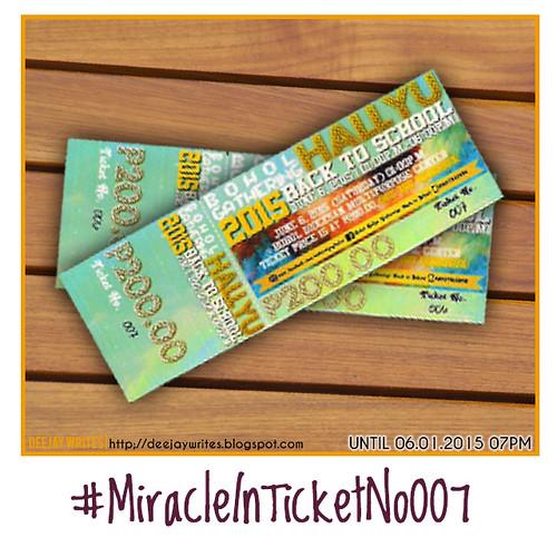 MiracleInTicketNo007 Instagram