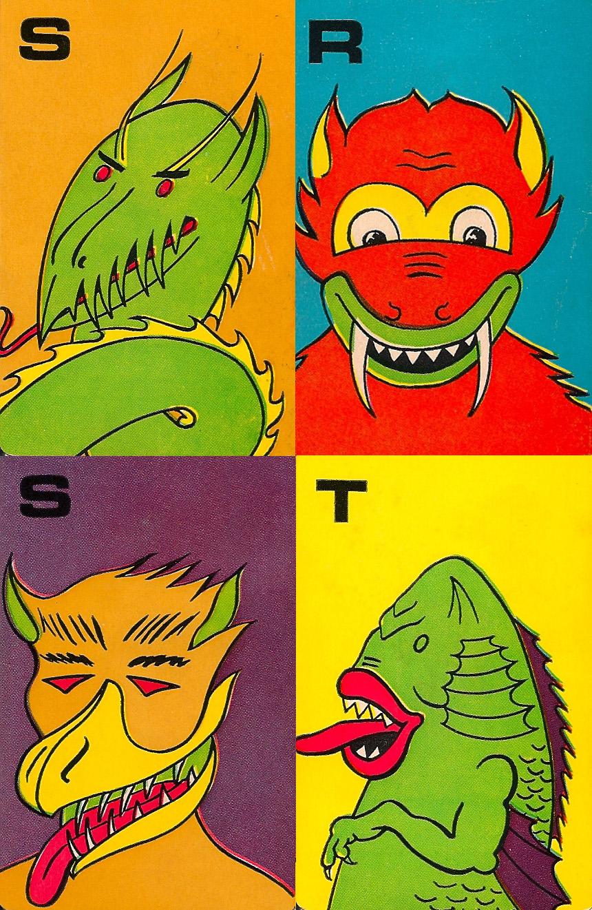 Monster Flip Cards - 3