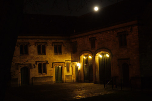 By the Old Bishop's Palace