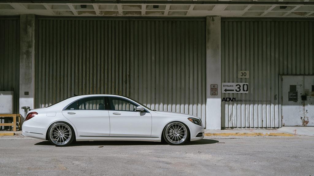 Mercedes Benz S550 On Adv15 Track Spec Cs Wheels Boutique Flickr