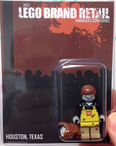 2015 LEGO Brand Retail Manager's zombie