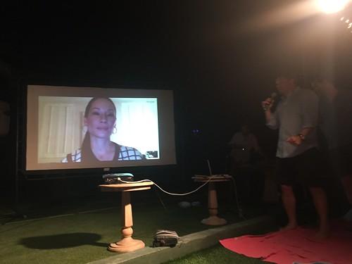 Lucy Liu skype interview
