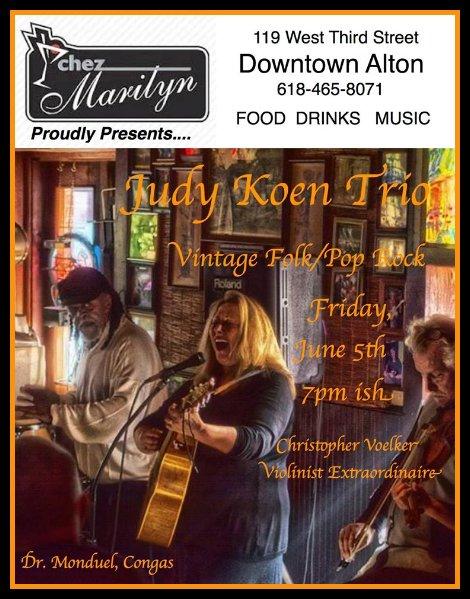 Judy Koen Trio 6-5-15