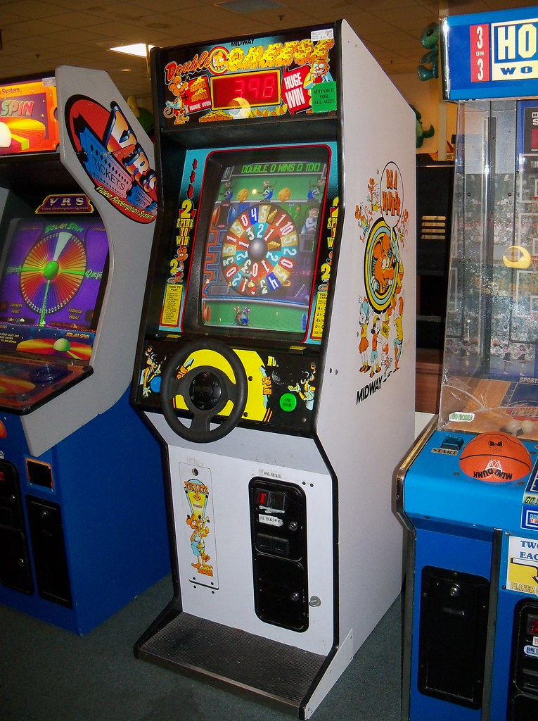 oh toledo double cheese double cheese arcade game at nic flickr