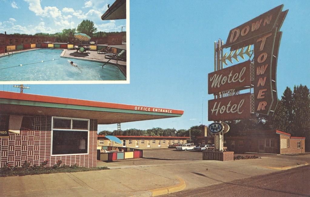 Down Towner Motel-Hotel - Grand Rapids, Minnesota