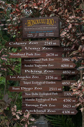 How far to other zoos? | by HelenPalsson
