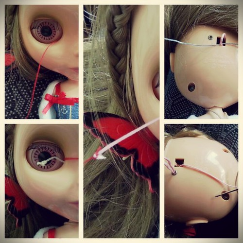 2015-05 i did it: change pullstring | by Panno Inno and her Blythes