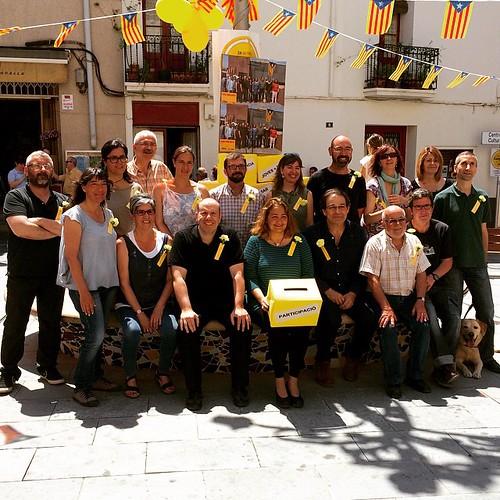 La Llista d'@EsquerraGelida a les #Municipals2015 #ViuGelida! #Gelida #Penedès