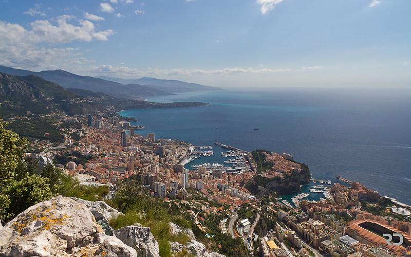 Over Monaco