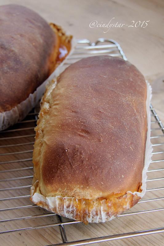 orange&cinnamon swirl bread