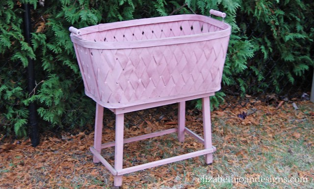 Antique Bassinet Makeover