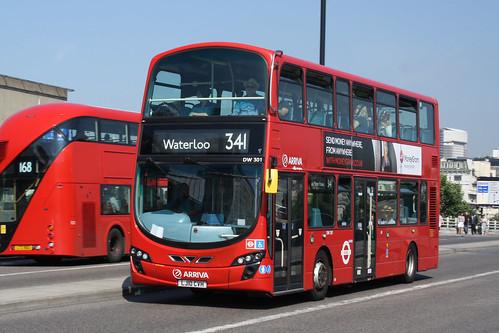 Arriva London North DW301 LJ10CVH