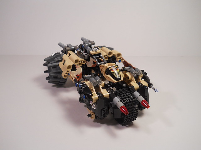 Dust Slizer, RoboRider Mode
