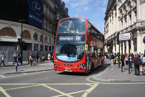 London General WVL468 LJ61NWX