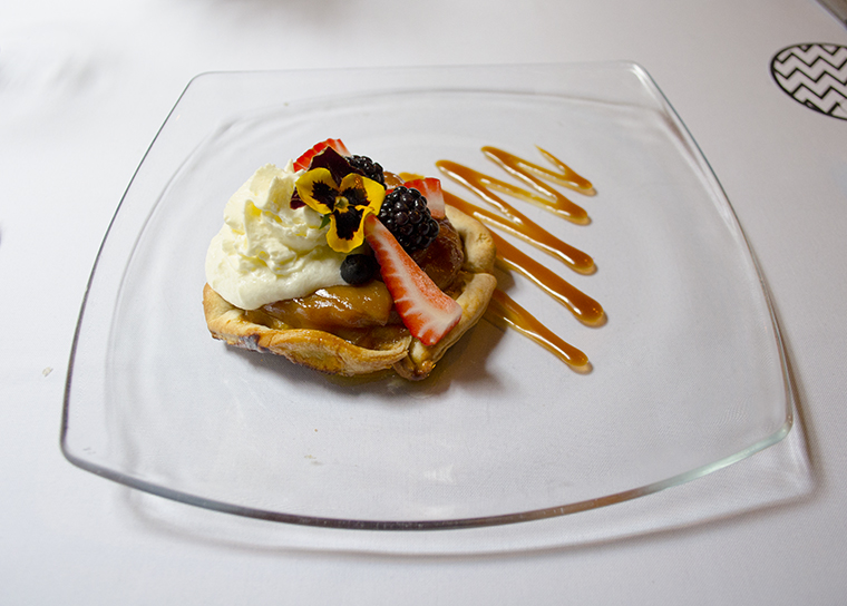 Wellington restaurante Tarte Tatin
