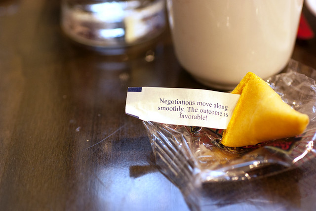 fortune cookie @ mee