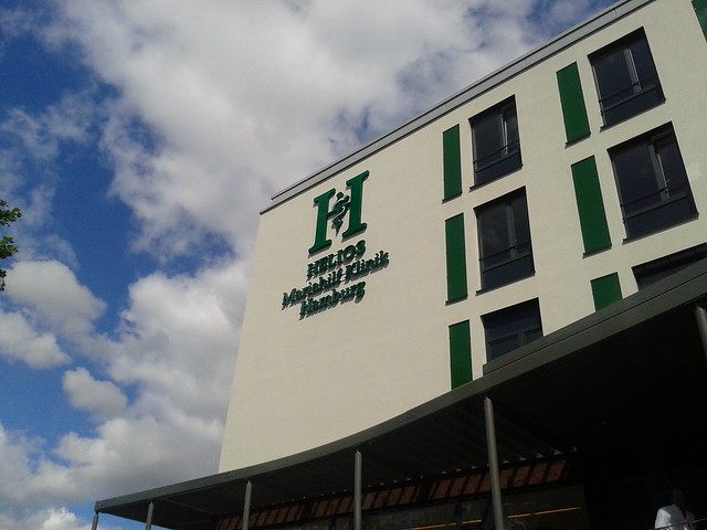 Einweihungsfeier des Neubaus der Helius Mariahilfklinik in Harburg