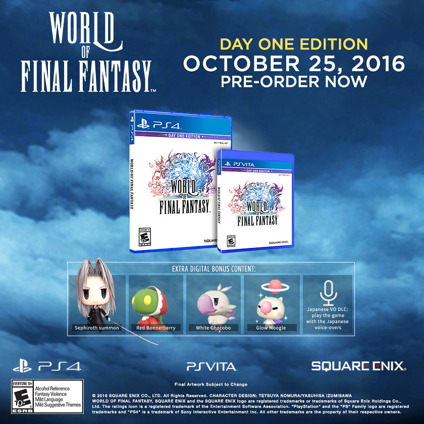 World of Final Fantasy, PS4 | PlayStation Blog | Flickr