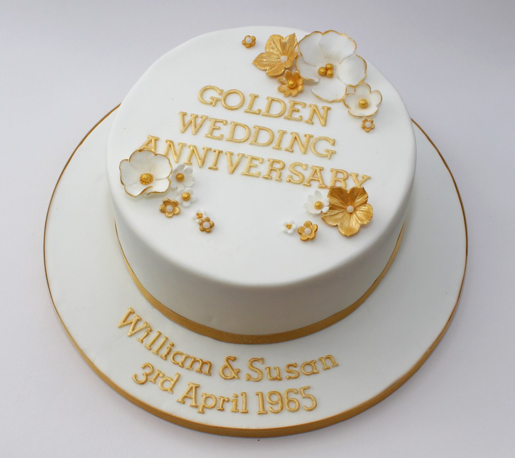 golden wedding cake messages golden wedding cake a simple and classic design fro a 14762