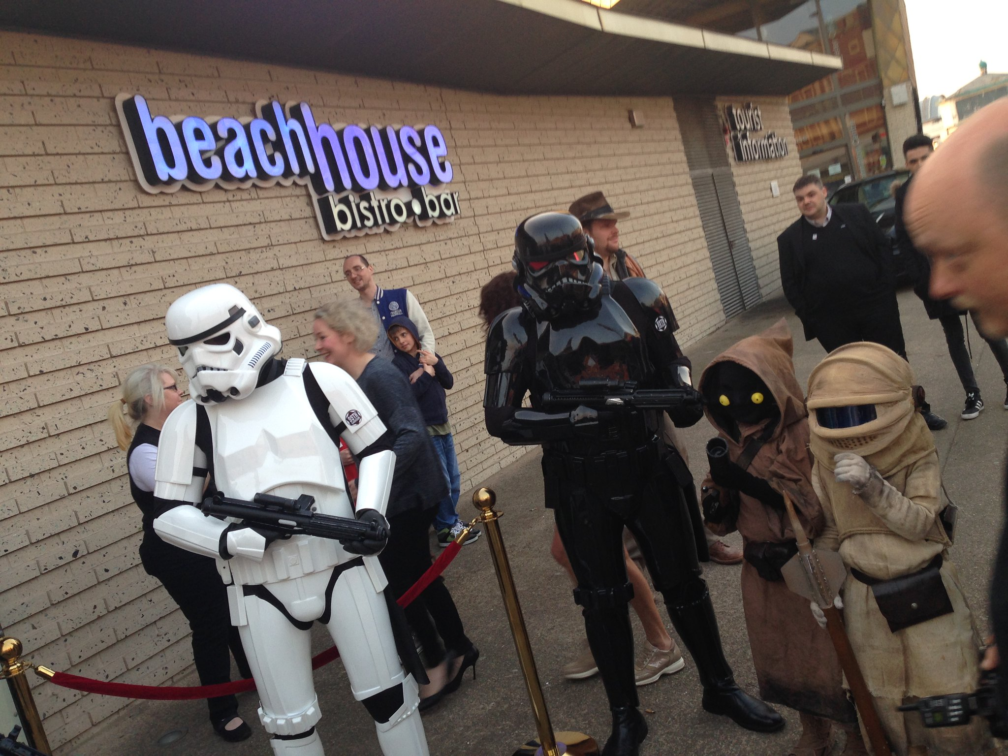Blackpool Comic-Con Launch Party - Star Wars Stormtroopers and Jawas