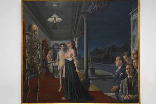 Paul delvaux 1897 1994 le mus e spitzner 1943 flickr for Paul delvaux le miroir