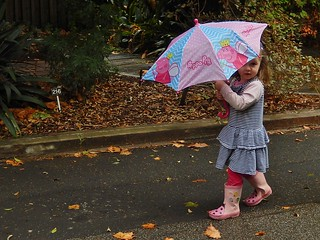 River and Peppa Pig Umbrella | by mikecogh