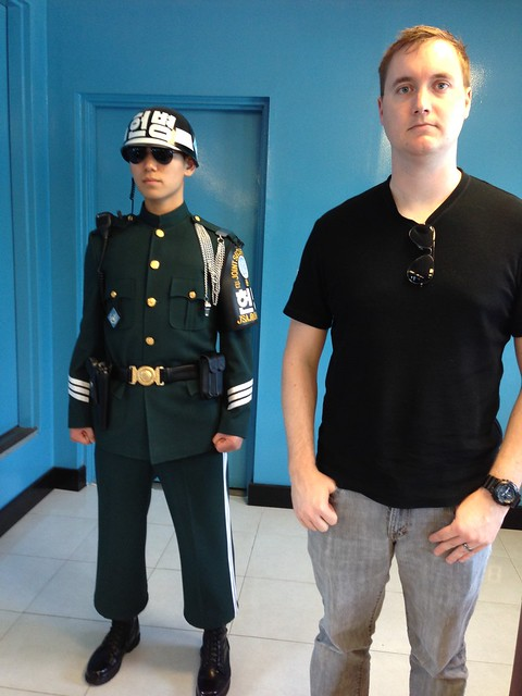 His second time in North Korea