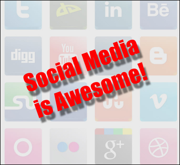 social media is awesome icons Diversify Your Work With Multiple Streams Of Income