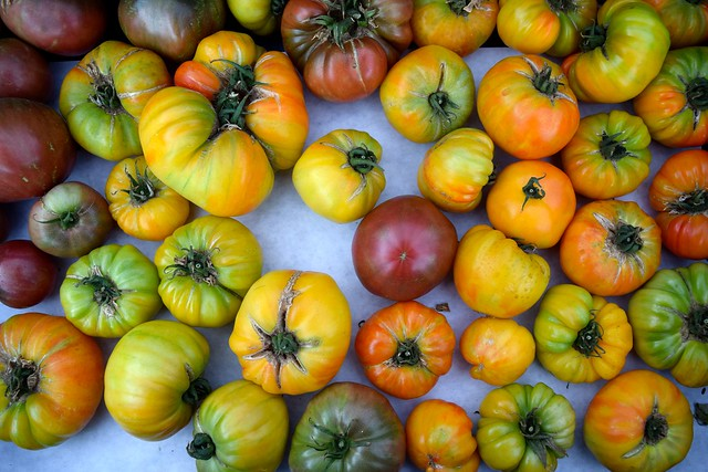 Heirloom Tomatoes at Venice Beach Farmers Market
