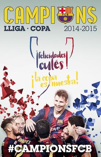 Campions Lliga y Copa