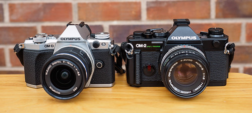 E-M5II compared to OM2sp 2 | by Alf Branch