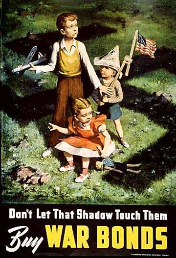 World War II Poster - Buy War Bonds