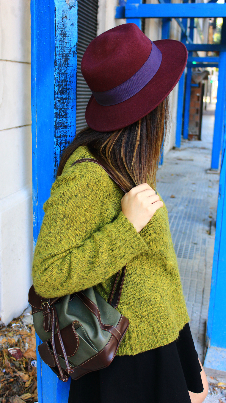 green wool 22