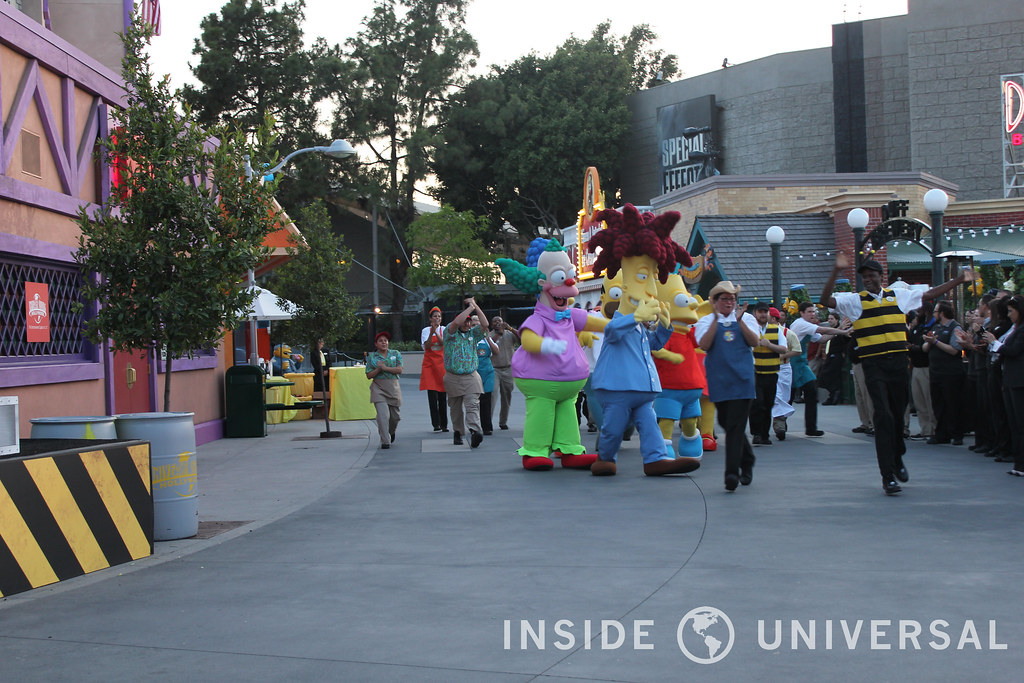 Springfield USA Officially Opens at Universal Studios Hollywood