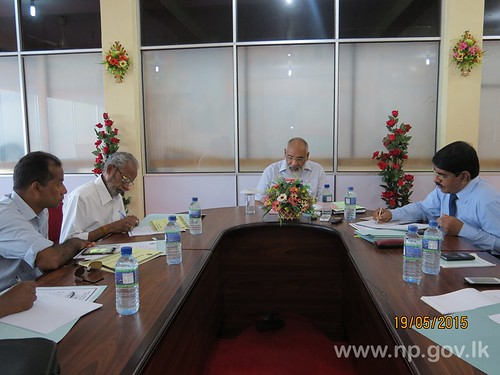 Consultative Committee Meeting of Chief Minister's Ministry – 19 May 2015